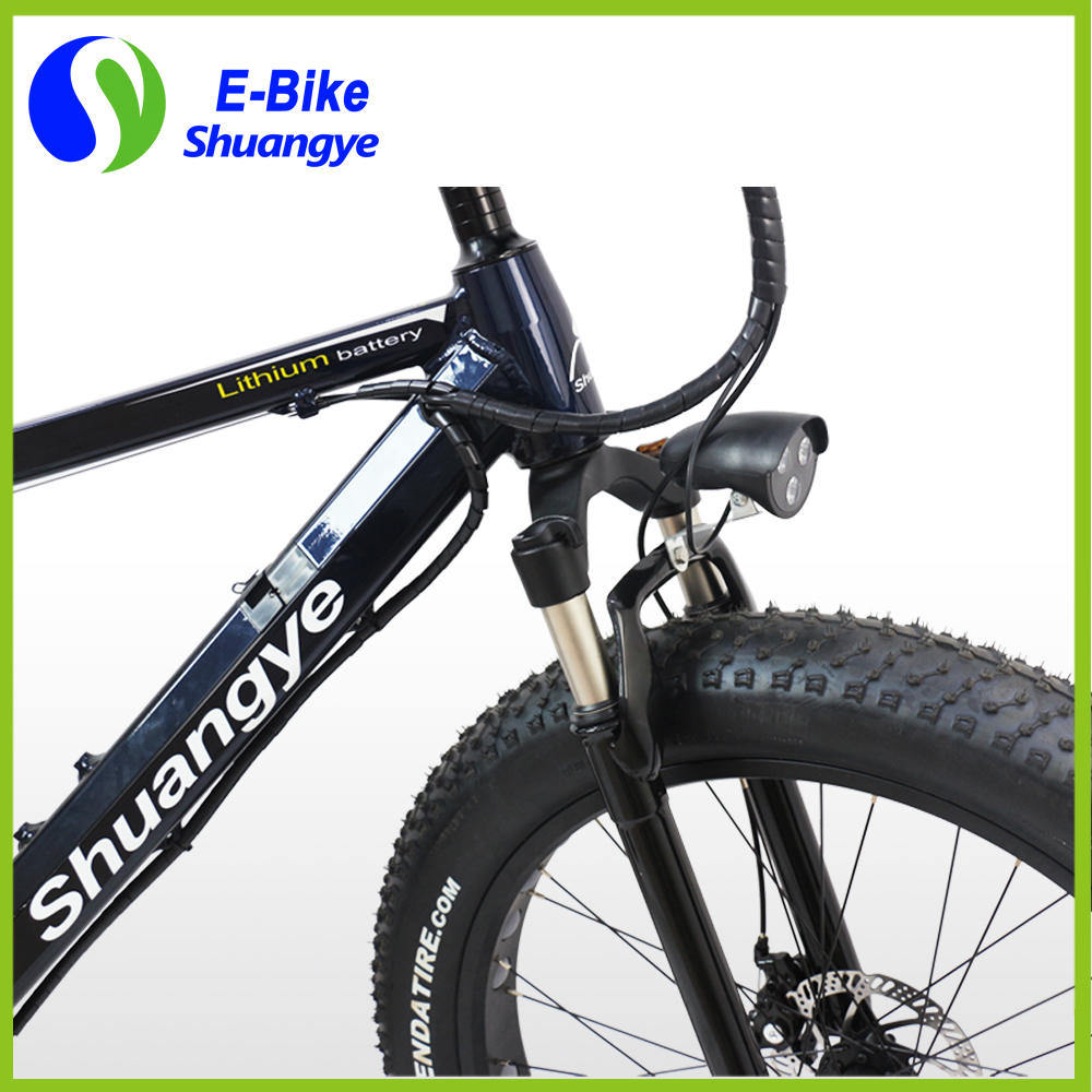 New Design 250W Factory Hidden Battery Electric Fat Bike