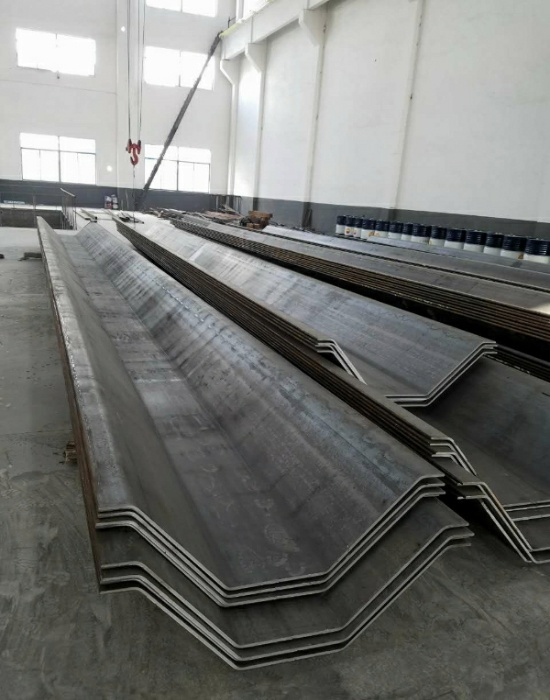 Steel Sheet Pile with Thick Wall
