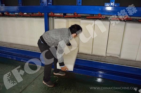 25 Tons Per Day Direct Freezing Block Ice Making Machine