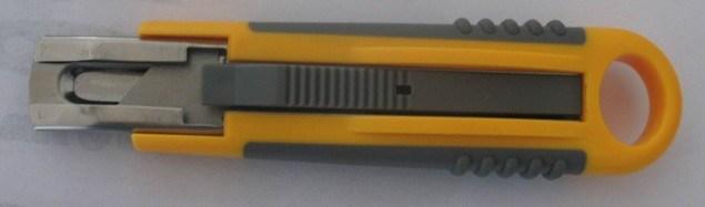 Safe Knife Auto-Retractable Knife (NC34)