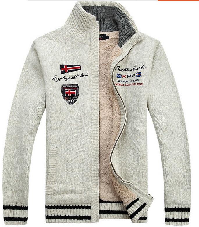 Men′s Knitwear Cardigan Sweater (MY002)