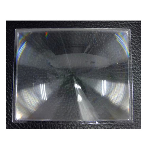 Optical Plastic Fresnel Lens Solar Focal Length 890mm for Projector
