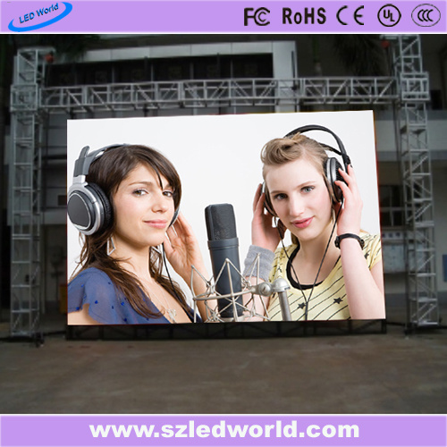 Outdoor/Indoor Energy Saving Die-Casting Full Color Rental LED Display Screen Panel Board for Advertising (P3.91, P4.81, P5.95, P6.25, P5.68 500X1000)