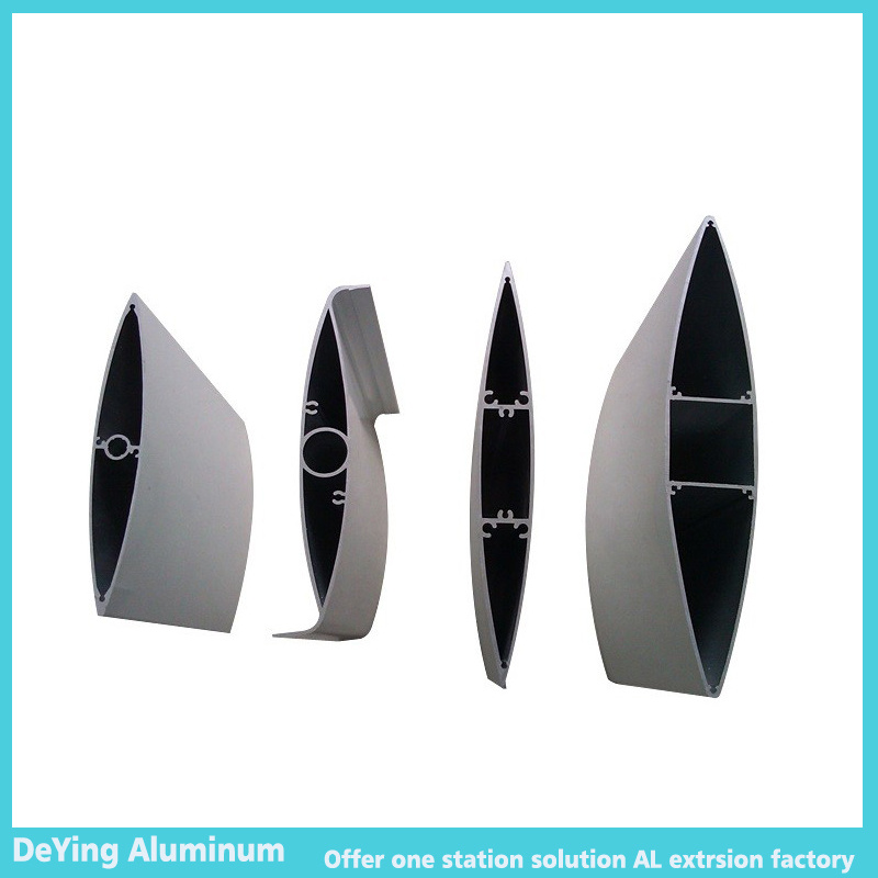 Thin Thickness Industrial Aluminum Profile with Difference Shape
