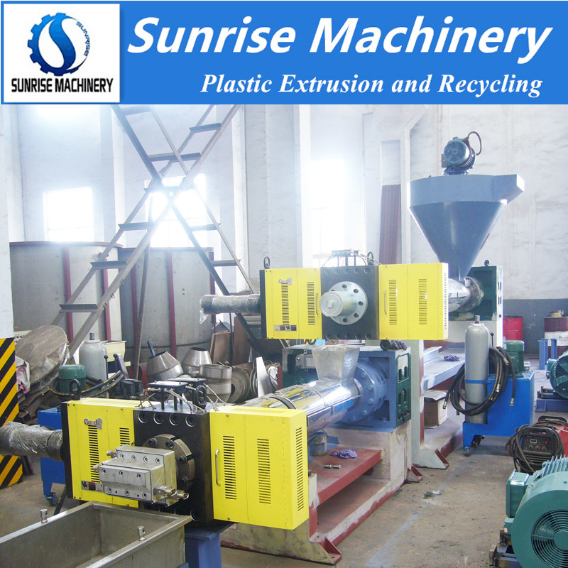 Waste PP PE Strand Pelletizing Machine