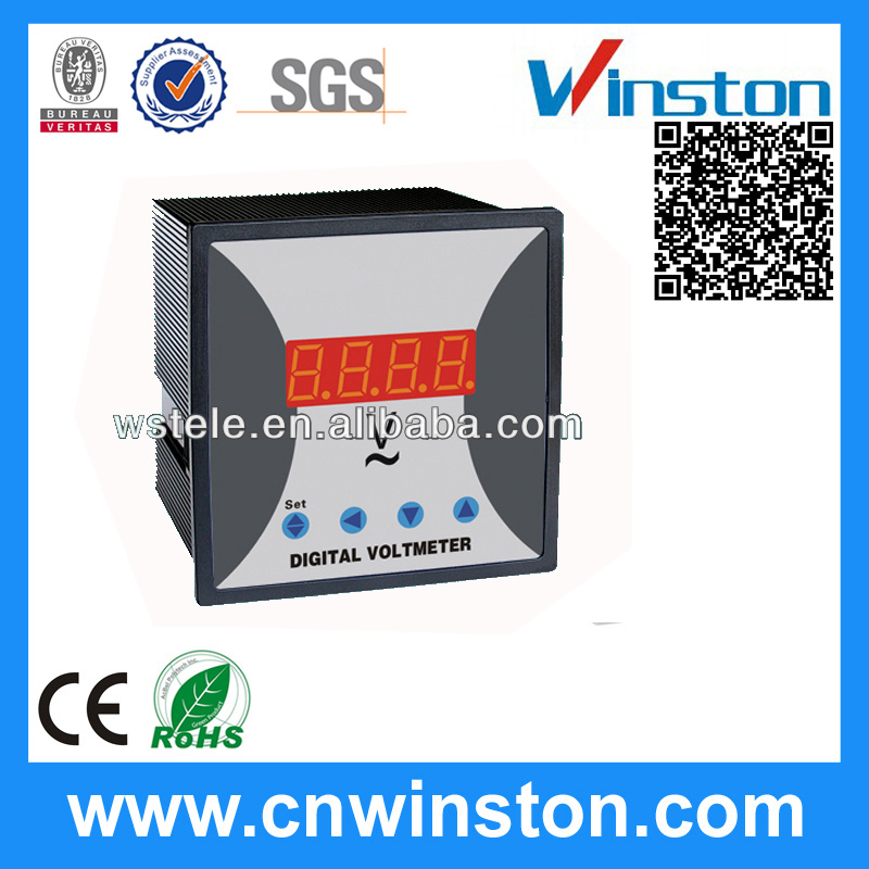 Single-Phase DC Digital Ammeter with Adjustable Power Supply with CE