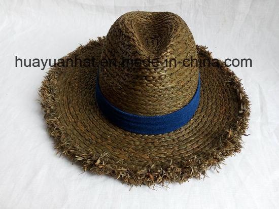 100% Raffia Straw Leisure Style Safari Hats