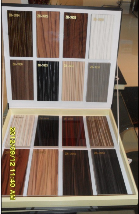 High Glossy Laminated Melamine UV MDF Boards Building Material for Kitchen Cabinets (1220X2440mm)