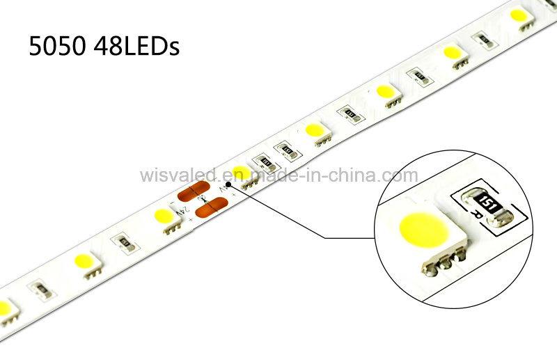 UL Certificate 48LEDs 5050 12V LED Strip