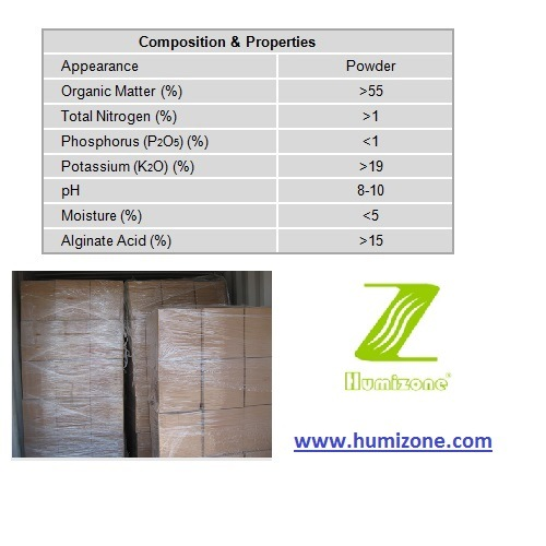 Organic Fertilizer: Humizone Seaweed Extract Powder (SWE-P)