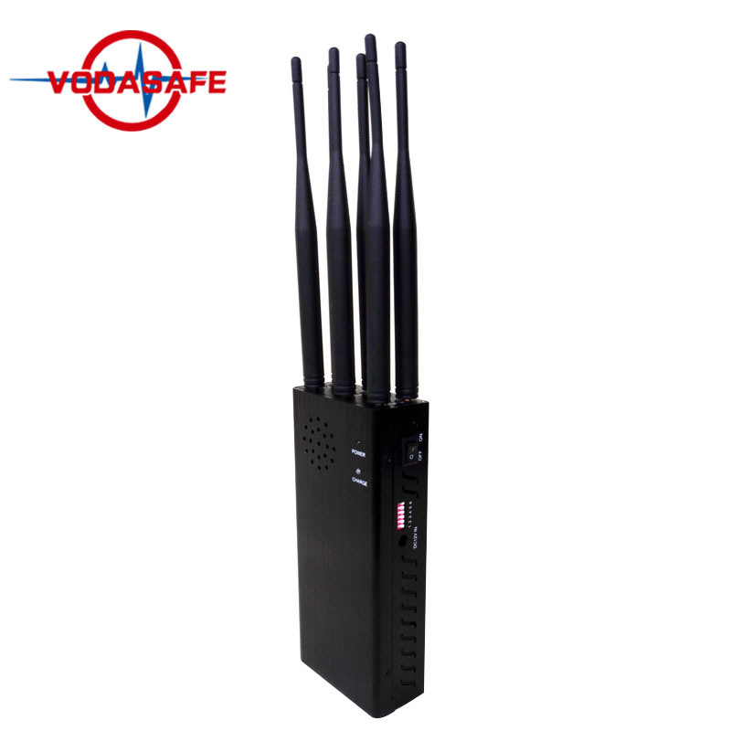 China High Power Eco-Friendly Handheld Safety 6 Bands Jammer, 2018 6 Antennas Portable Sensitivity Jammer for RC /GPS /WiFi /3G/4G - China Portable Cellphone Jammer, Wireless GSM SMS Jammer for Security Safe House