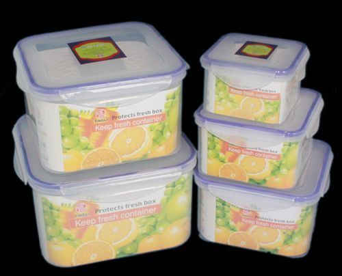 Microwave Storage Container 5PCS Set
