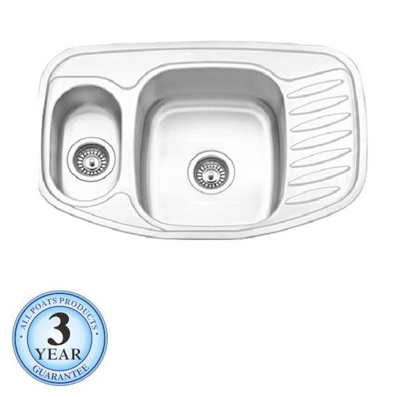 Double Bowl Corner Sink : Double Bowl Corner Kitchen Sink (PS-571) - China Stainless Steel Sink ...