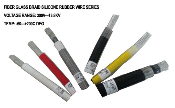 High Temperature Resistant Silicone Rubber Cable