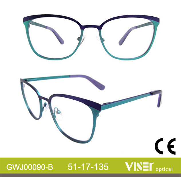 Metal New Fashion Optical Frames (90-B)