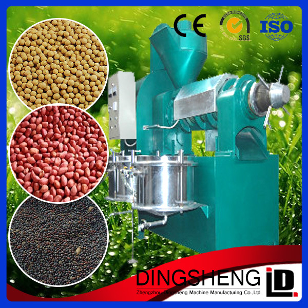 Hot Press Peanut/Sunflower Seed/Cottonseed/Soybean/Sesame Oil Machine