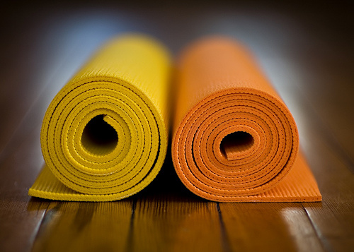 Non-Slip Rubber Yoga Gym Mat for Carpet Indoor Exercise
