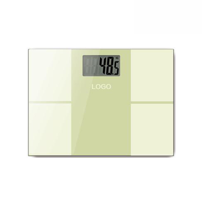 Large LCD Display Electronic Weighing Scale with Glass Platform