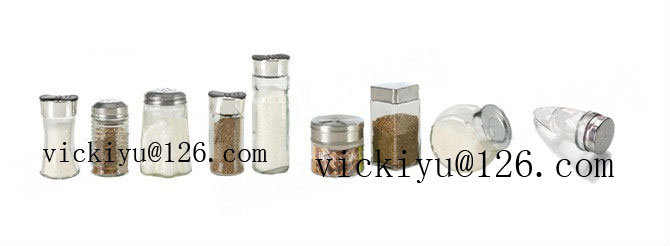 50ml~180ml Glass Spice Jars with Lid, Pepper Shaker