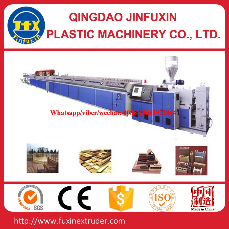 WPC Plastic Door Profile Extrusion Line