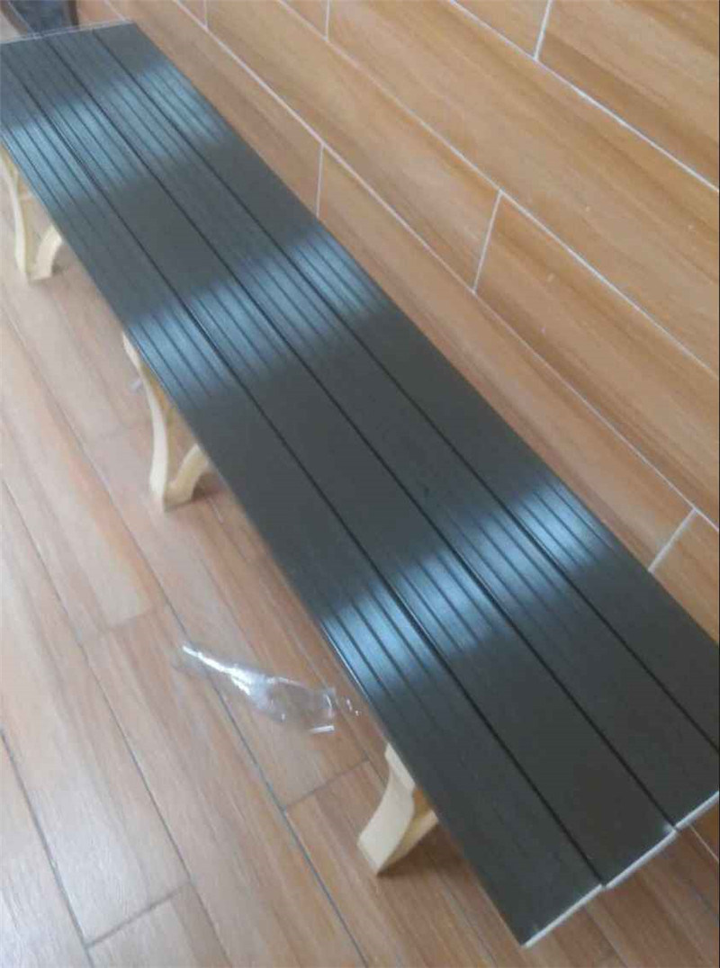 Long Bench for Dressing Clothes with 2 Legs