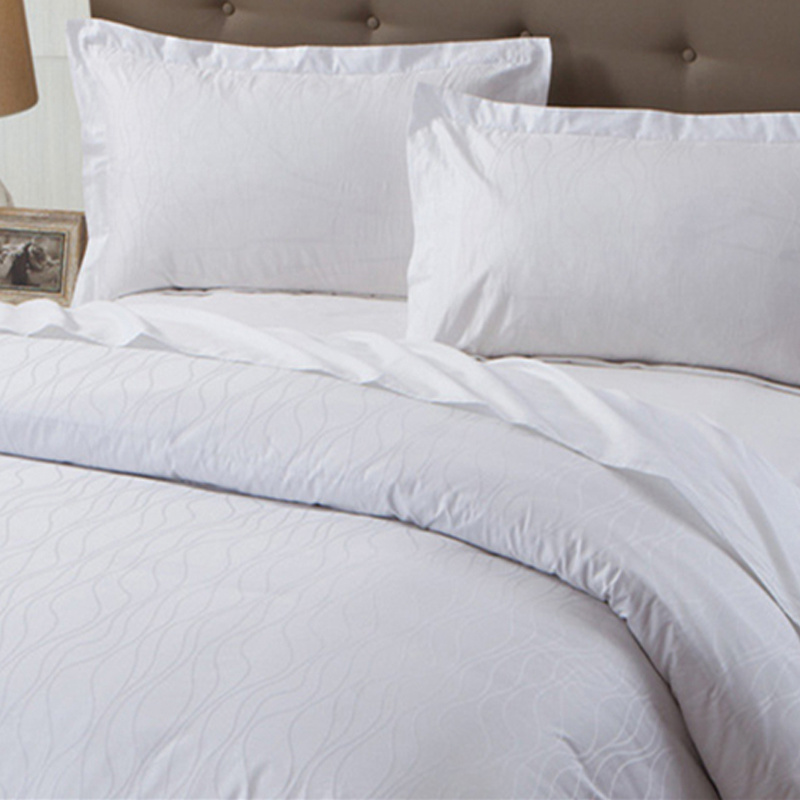 Bedding Set (BE-002) 100% Cotton Linen Product Hotel Bedding Manufacturer Ome