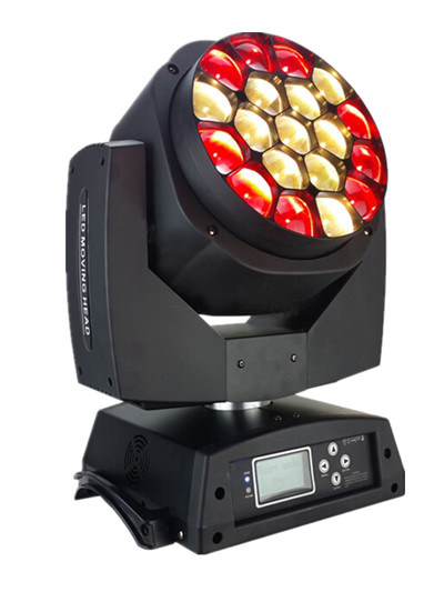 Moving Head Bee Eye 19*15W LED Stage Effect Light