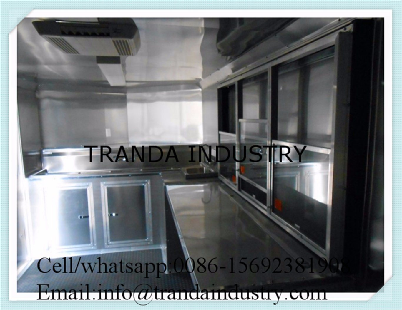New Mobile Food Trailer Food Cart Trailer
