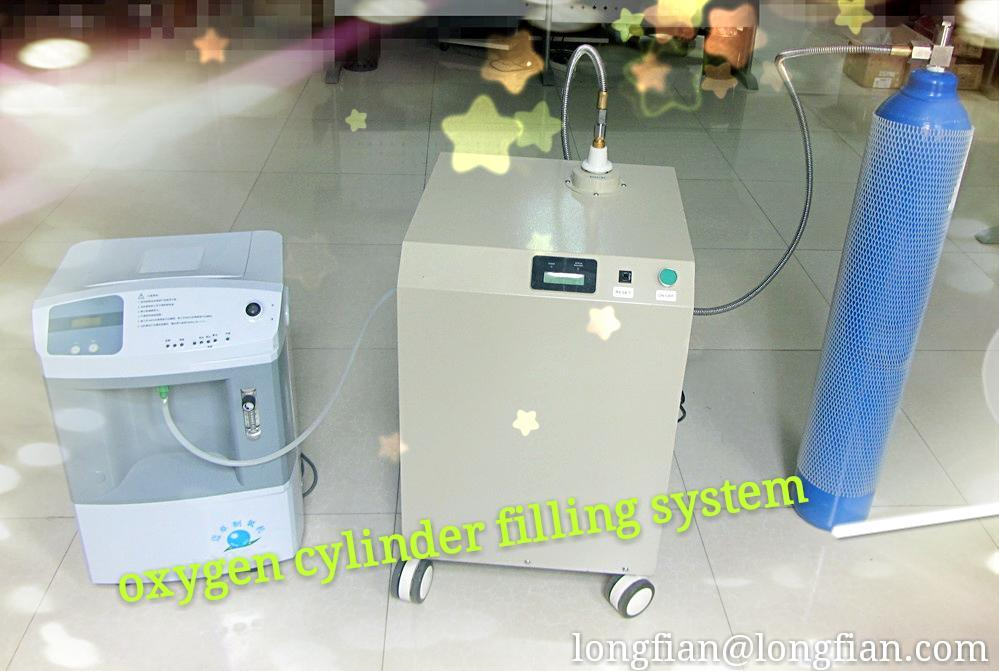 Small Oxygen Cylinder Fill System