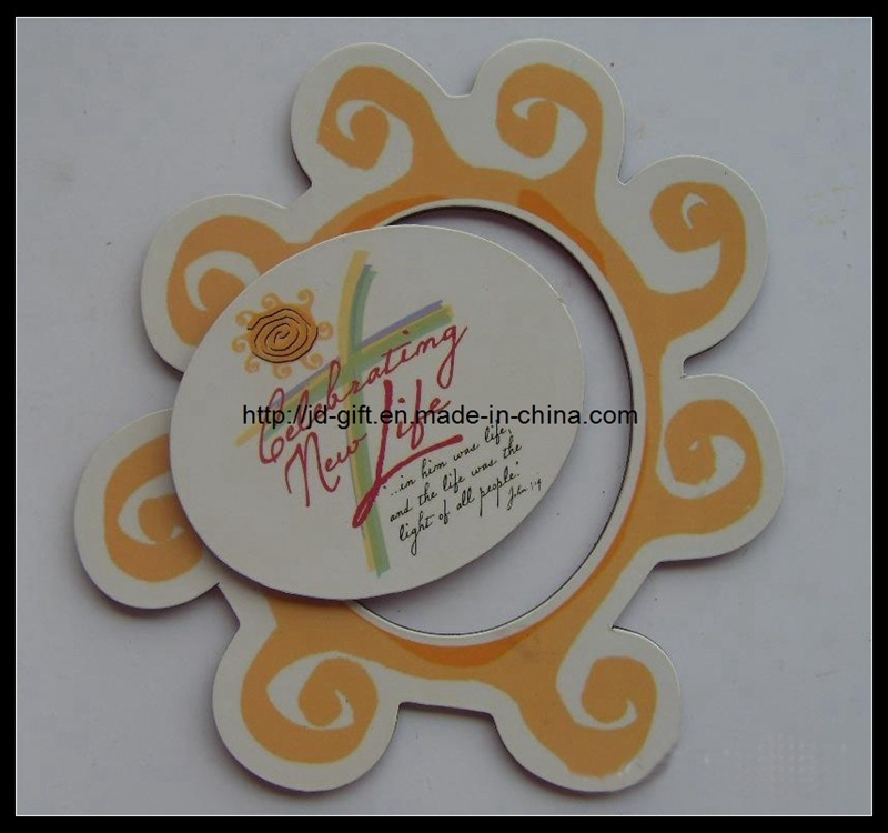 Hot Promotional Customized Paper Colorful Printing Magnetic Photo Frame