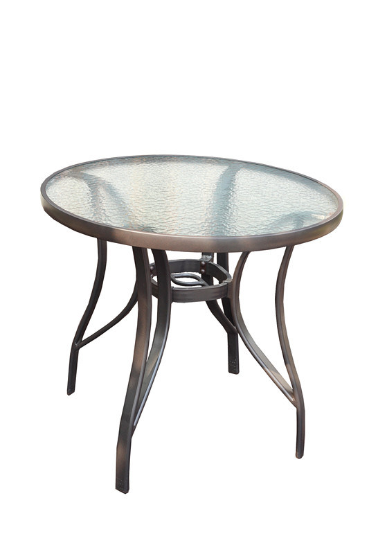 China Round Coffee Table With Glass Top In Silver Dining Table Bz Ta002 China Glass Table