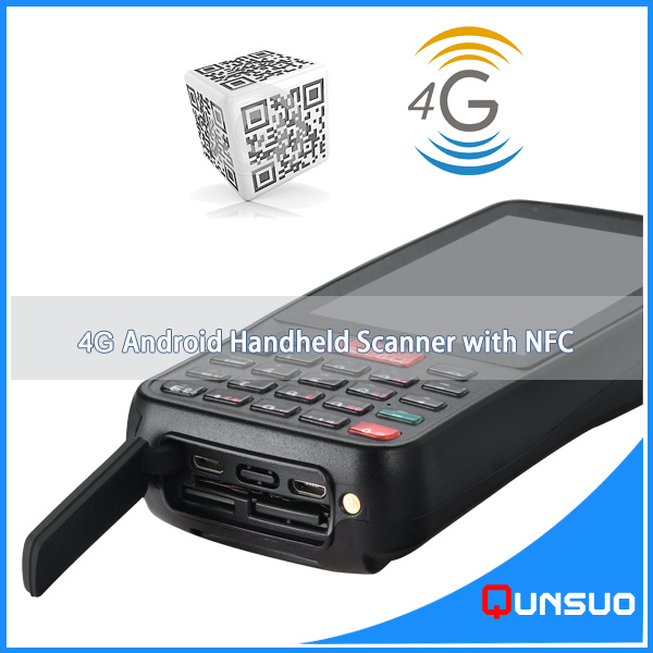 Capacitive Screen Touch Screen Type Android PDA RFID Reader