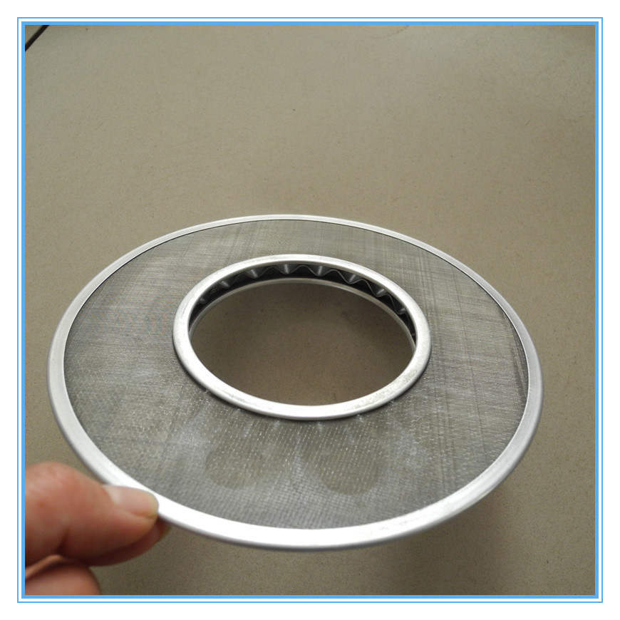 Stainless Steel Bonded Edges Extruder Screen