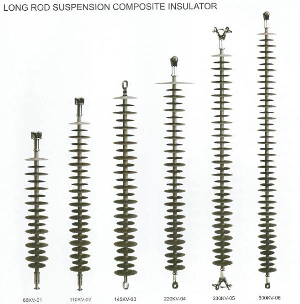 2017 24kv 70kn Power Transmission Tension Polymer Suspension Composite Insulator