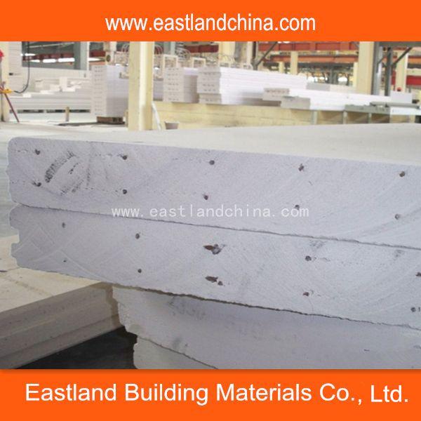 Precast Concrete Steel Reinforced Lightweight AAC Panels