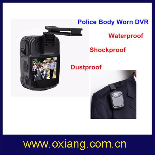 Mini 1080P Police Body Worn Video DVR with IR Night Vision