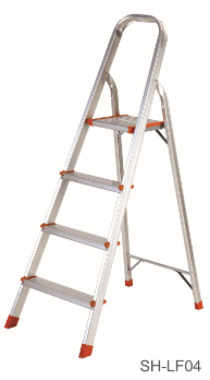 Step Stool Foldable Aluminum Ladder (SH-LF04)