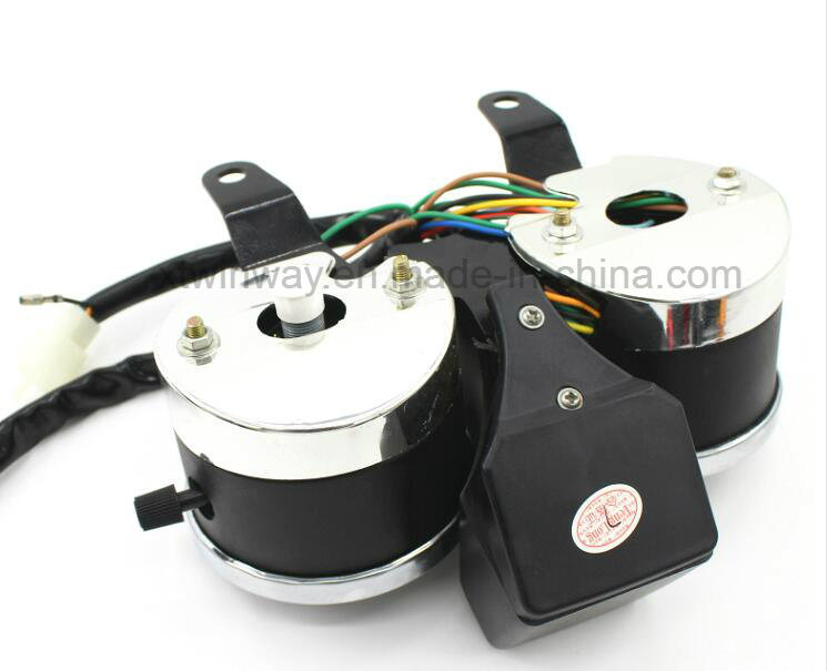 Ww-7207 Motorcycle Parts Instrument, Speedometer for Gn125