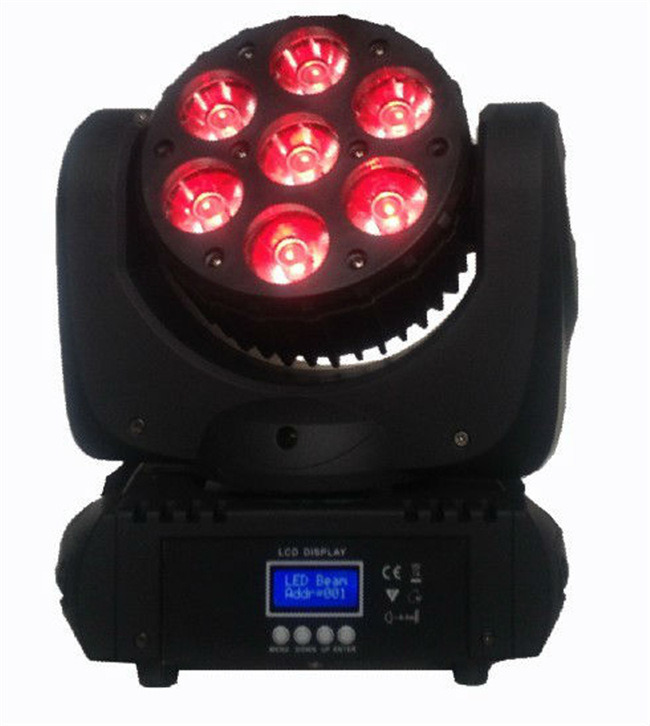 7PCS Osram LED Moving Head Beam Stage Light (CSL-715A)