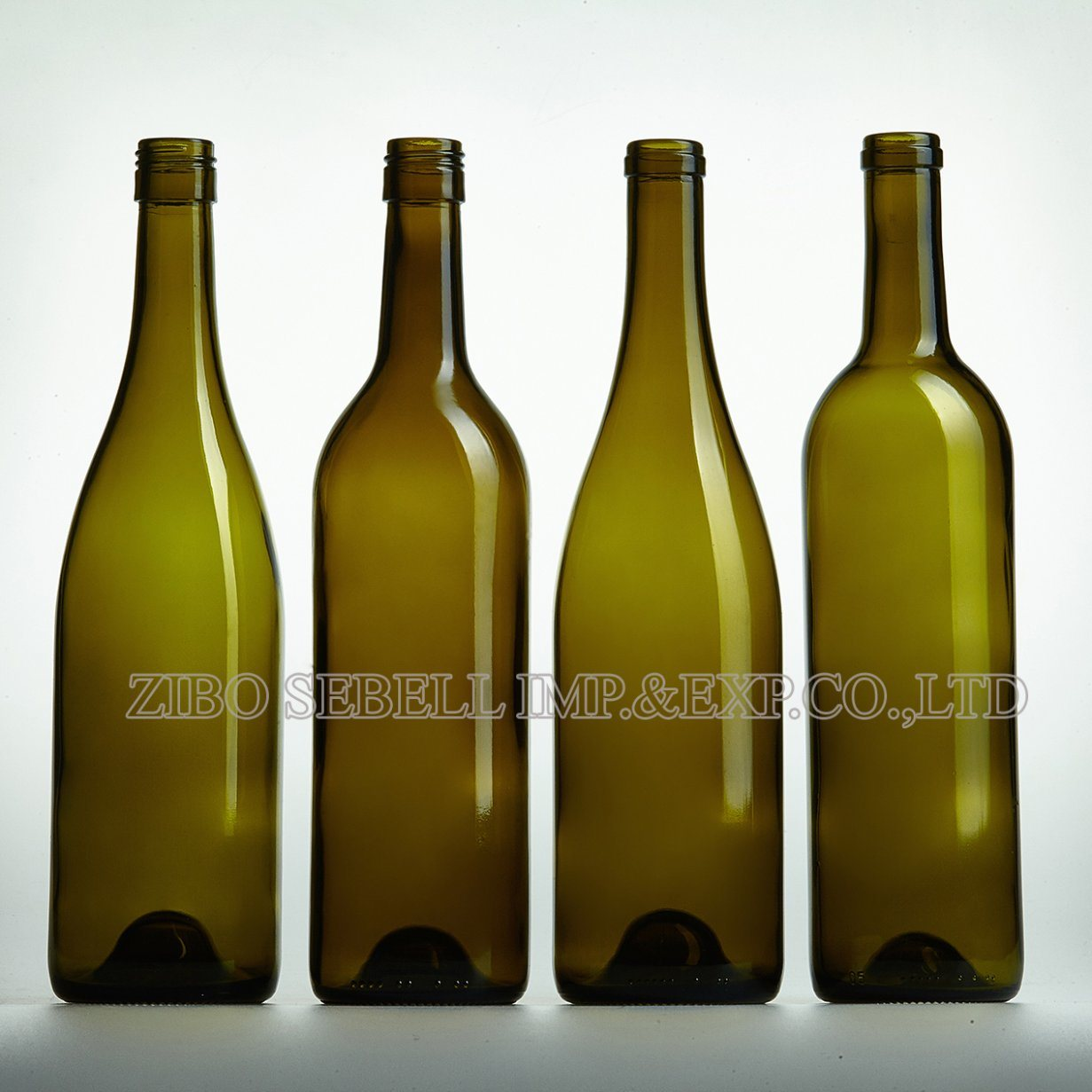 0.75LTR Bvs Closure Glass Wine Bottle Bordeaux Bottle