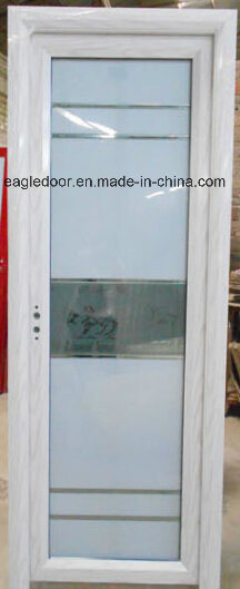 Real Photo White Aluminum Bathroom Door (EA-1005)