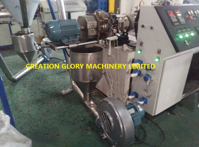 High Efficiency Color Master Batch Extrusion Granulator Production Line
