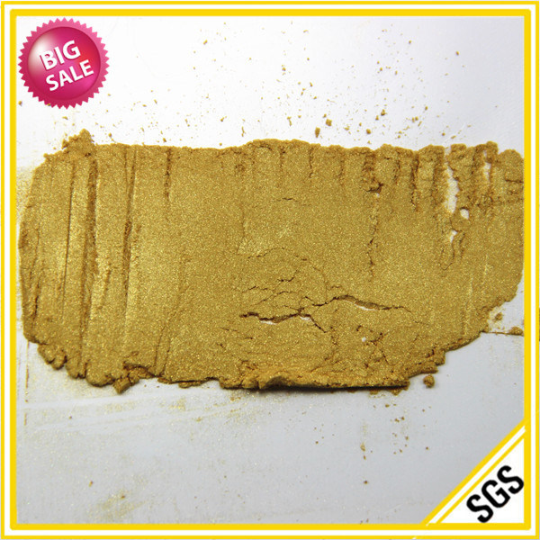 Supplier Paint Gold Mica Pearl Pigment