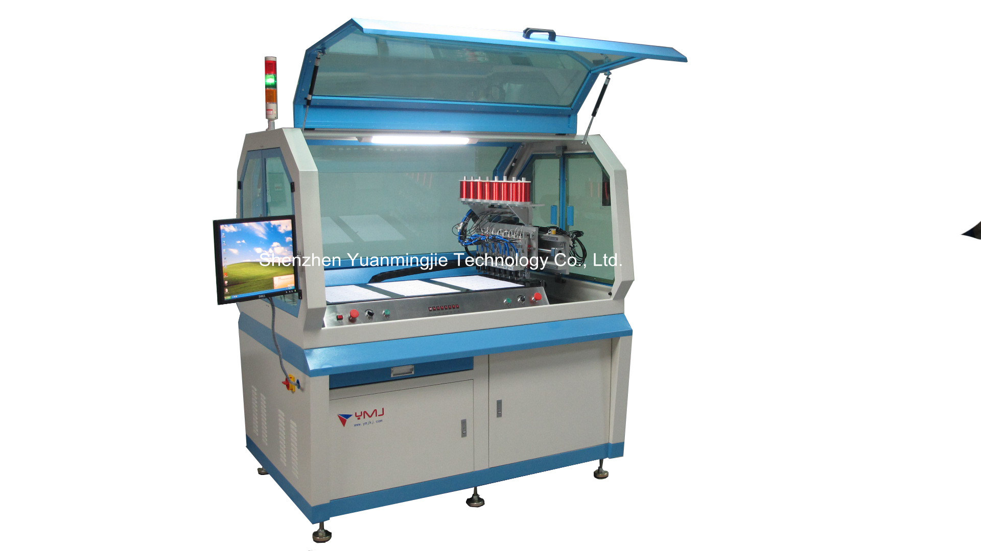 Full Auto Antenna Embedding Machine (YMJ-OL10-3000)