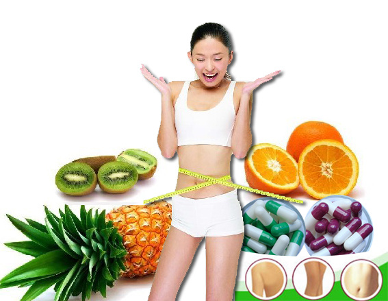 Mix Fruit Slimming Capsule Rapidly Slimming Weight Loss Fast