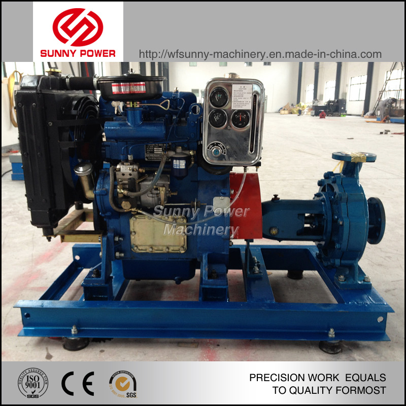4 Inch Diesel Engine Water Pump with Jockey Pump and Pressure Tank