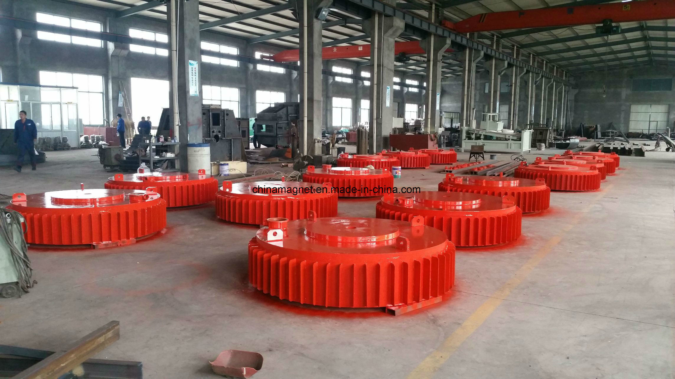 Rcdb Series Suspension High Intensity Permanent Magnetic Separator for Conveyor Belt