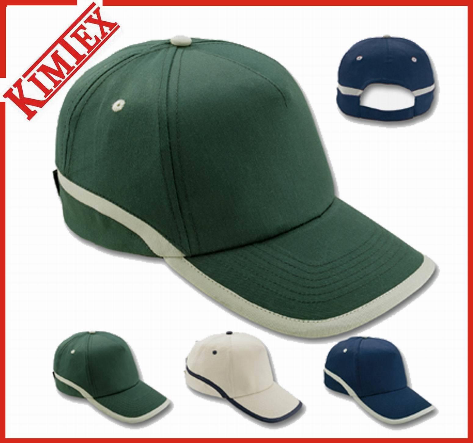 100% Cotton 5 Panel Sports Embroidery Baseball Cap