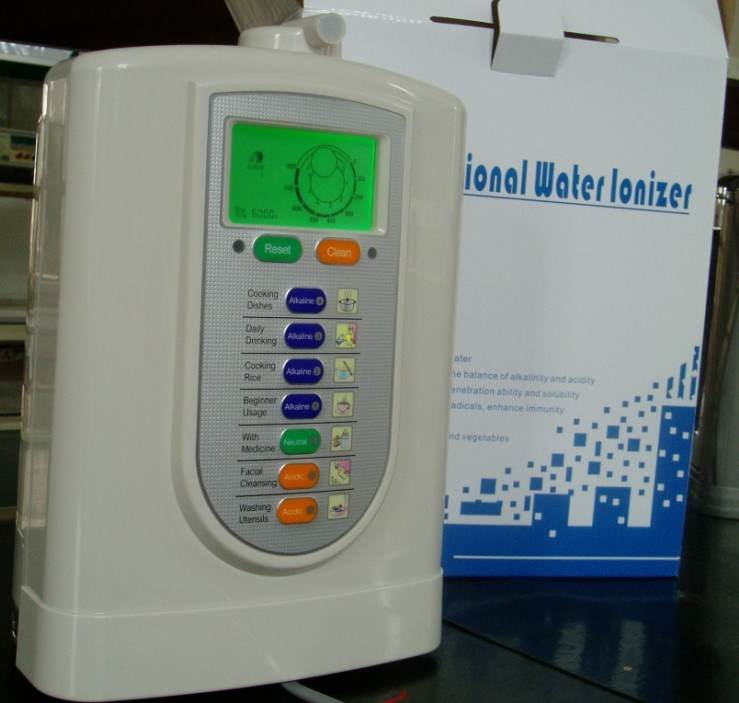 Alkaline Water Ionizer (Japan Technology, China manufacturer) Ce Guarranted+Certified Built-in Filter