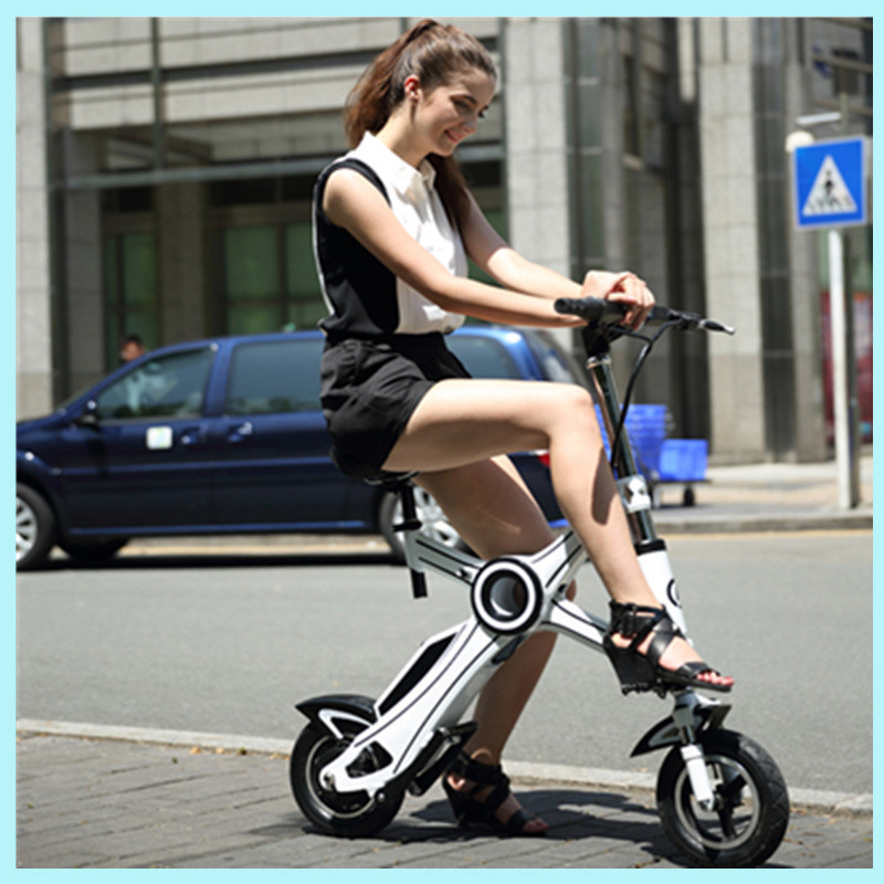 New Products 2016 Brushless Motor Two Wheel Mini Folding Electric Pocket Bike